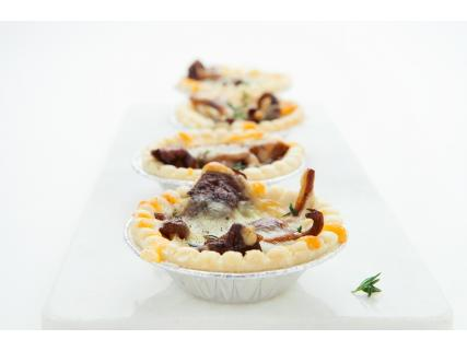 Maple Mustard and Cheddar Cheese Mushroom Cups