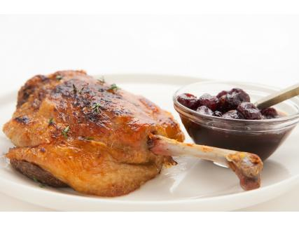 Whole Dried Cranberry and Maple Honey Sauce